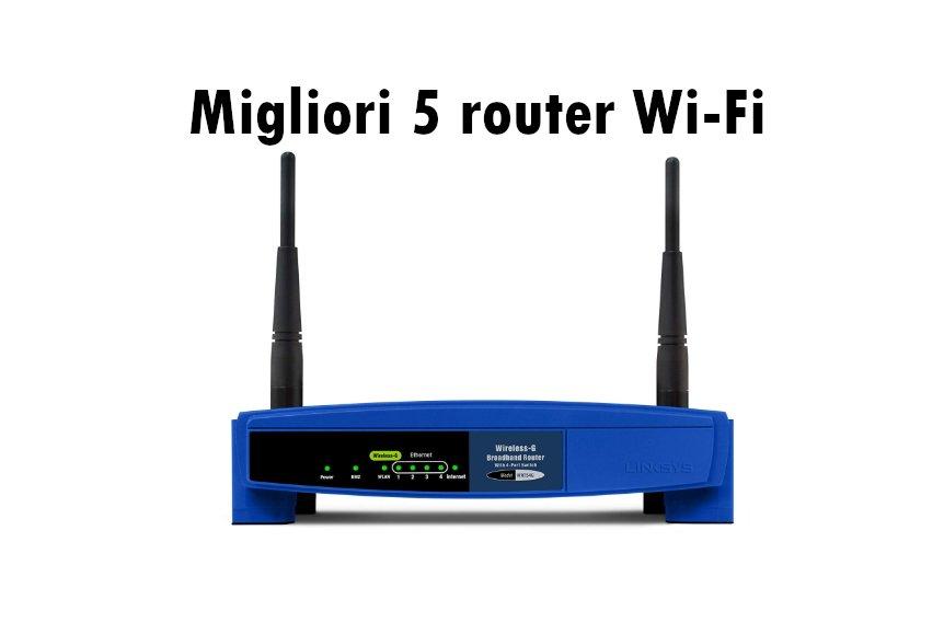 recensione migliori 5 router wifi
