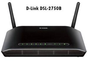 router D-Link DSL-2750B