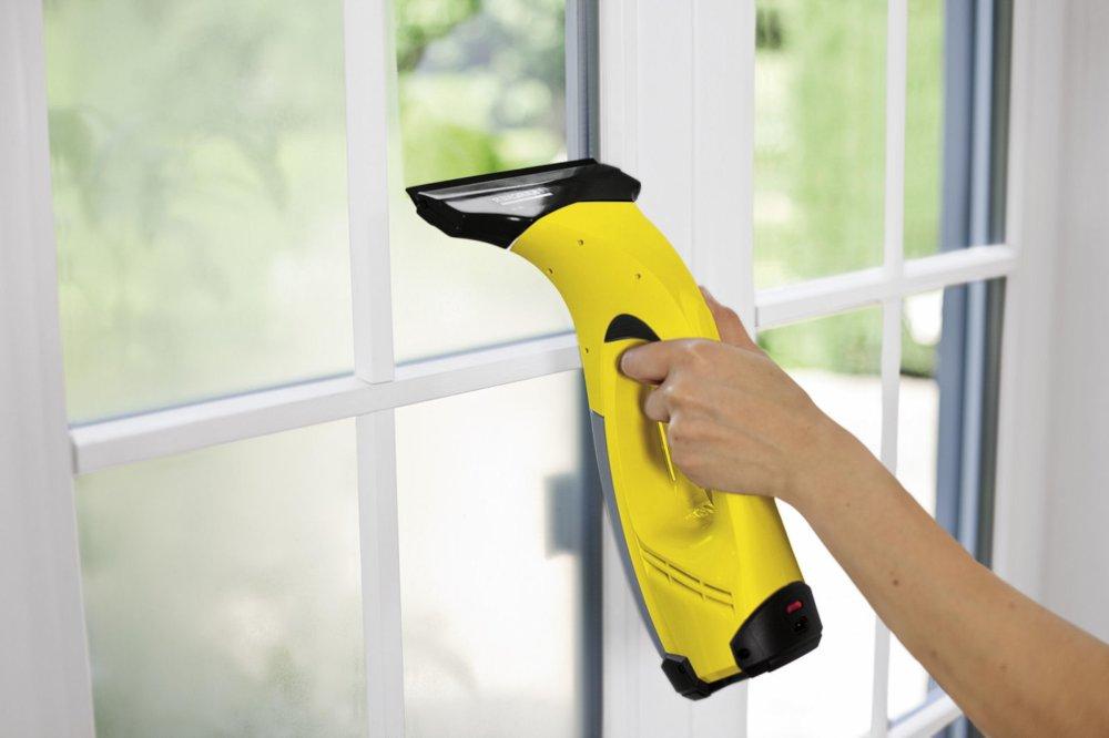 Lava e pulisci vetro senza fili Aspiragocce Karcher WV 5 Premium a batteria
