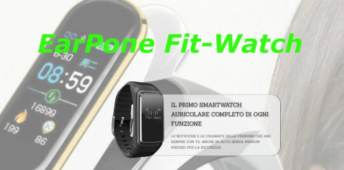 recensione earphone fit-watch