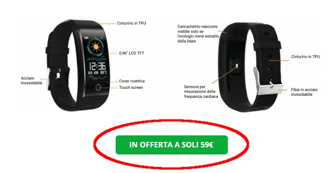 sport watch pro 1 prezzo
