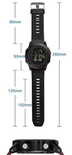 x tactical watch design